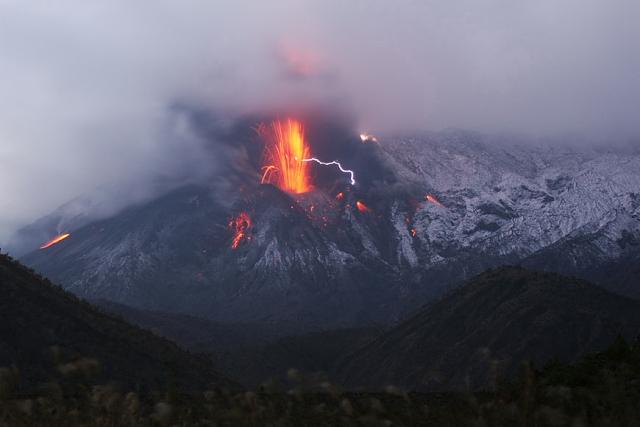 Sakurajima volcano, photo by Martin Rietze --
