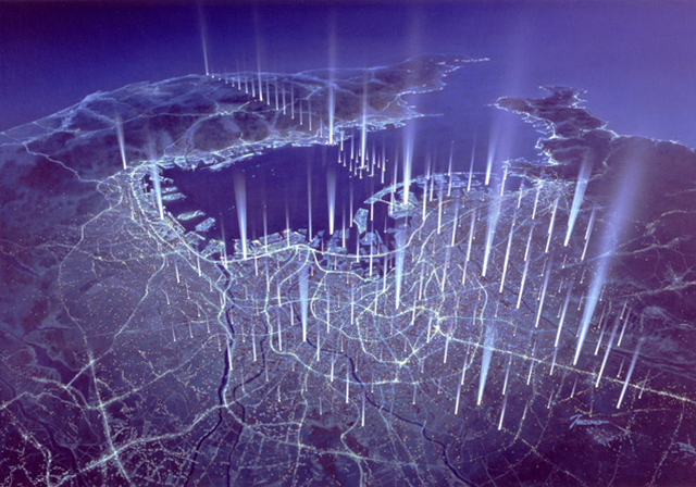 Urban Geo-Grid Plan by Shimizu Corporation --