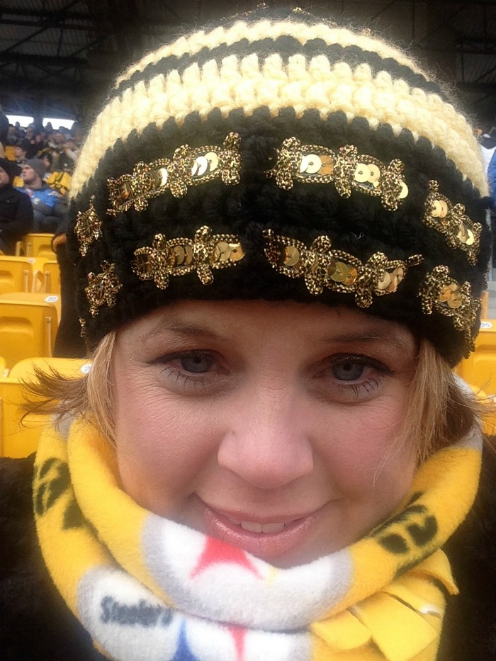 steeler fleece scarf
