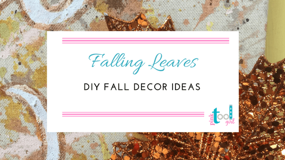 Falling Leaves and clay pot silverware holders