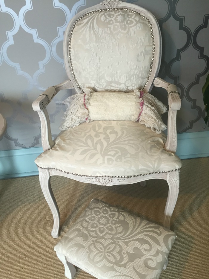 furniture makeover finished chair