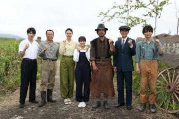 【晨間劇】「夏空」拉大隊前往北海道十勝進行拍攝~ 女主人公廣瀨鈴表示想帶出悠遊自在的夏。