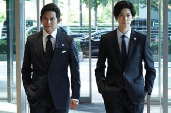 【SUITS】美劇既视感!從容帥氣的織田裕二搭檔敏捷爽朗的中島裕翔 ~第一話14.2%收視率,初回即破雙位數。