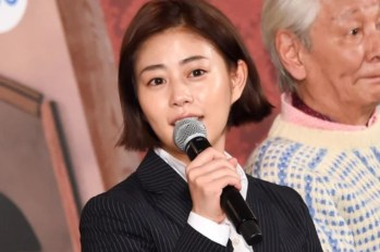 【日劇】高畑充希以帥氣短髮造型登場「警察之家」見面會~ 繼「當家姐姐」再次與西島秀俊共演。