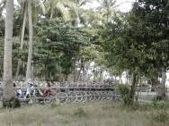 Parkiran Sepeda Tanjung Barat Tidung