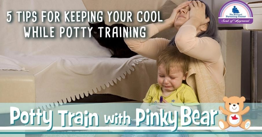 Keeping Your Cool While Potty Training