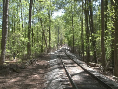 Railroad Tracks @ Stone Mountain in Atlanta, GA