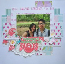 Better Together Scrapbook Layout