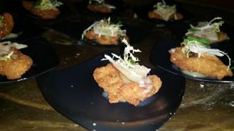 Kurobuta Schnitzel with Pear Mustard & Crispy Capers