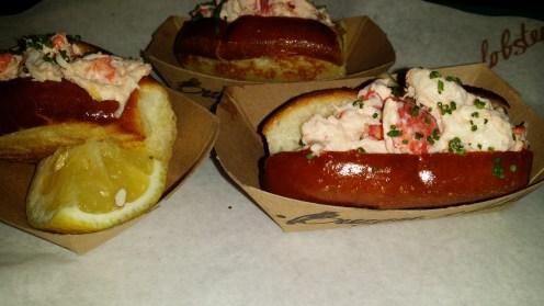 Mini Lobster Rolls on Potato Brioche