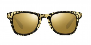 Leopard Print Carrera Sunglasses With Gold Frames