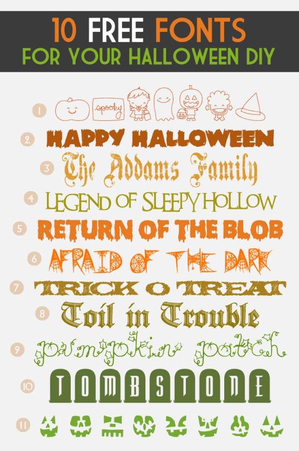 free halloween fonts # 22