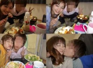 新井恵理那のキス画像