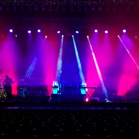 Lighting Programming and Design for The Beach Boys Christmas Tour