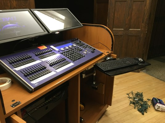 Upgraded networked Lighting Console for the Iowa State Memorial Union