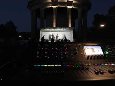 Mixing the Beaverdale Bluegrass Festival