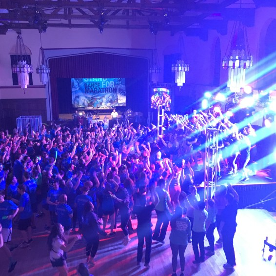 Lighting Design for Iowa State University's Dance Marathon