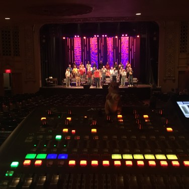 Mixing the Pride of Iowa Men's Barbershop Choir