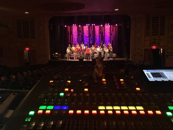 Mixing the Pride of Iowa Men's Barbershop Choir