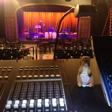 Mixing the Rad Trads at the Temple for Performing Arts