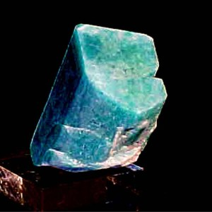 Fine Colored Amazonite Crystal