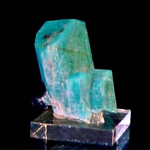 Tall Euhedral Amazonite Group