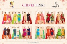 AVC-chinky-pinky-vol.-1-two-tops-cotton-fabric-salwar-kameez-wholesalers-4