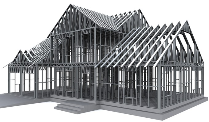 steel structure design software and structural frame