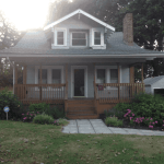 An early 1920s two story home we inspected in Akron,OH.