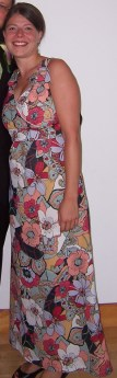 A dress I made for an August wedding in 2008