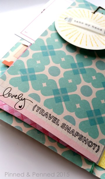 "Great use of bottom ""salvege"" of paper with that lovely script. Stamp by Kelly Purkey."