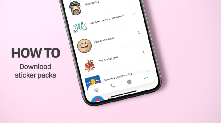 How to Download Sticker Packs on Pinngle Messenger thumbnail