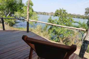 At Pinnon Safari Lodge all our chalets face the river