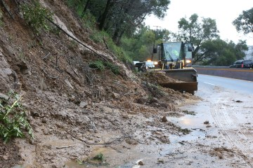 drought causes deadly mudslide in California