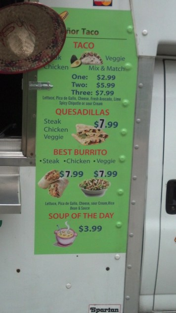 """Best Burrito"" huh? I'm sure they wouldn't lie about that"