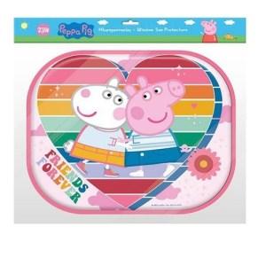 Dks Mbrojtese xhami per makina 2 pcs poster ngjyrues Peppa Pig. OTTB1000