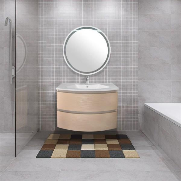Mobilje tualeti panel druri bezhe mat 84.5x53xH58 cm 223625 2
