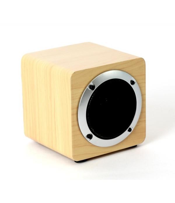 omega speaker og61w wooden 4 5w bluetooth v4 2 brown tws system 44155