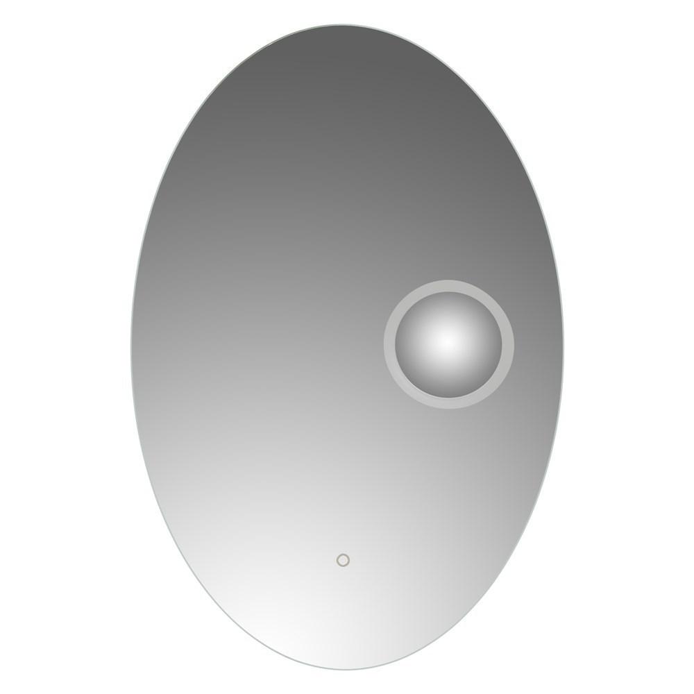 Pasqyre me ndricim LED kornize alumini sergjen metalik thares avulli 6500K 5 mm 60x90 cm 224095 1