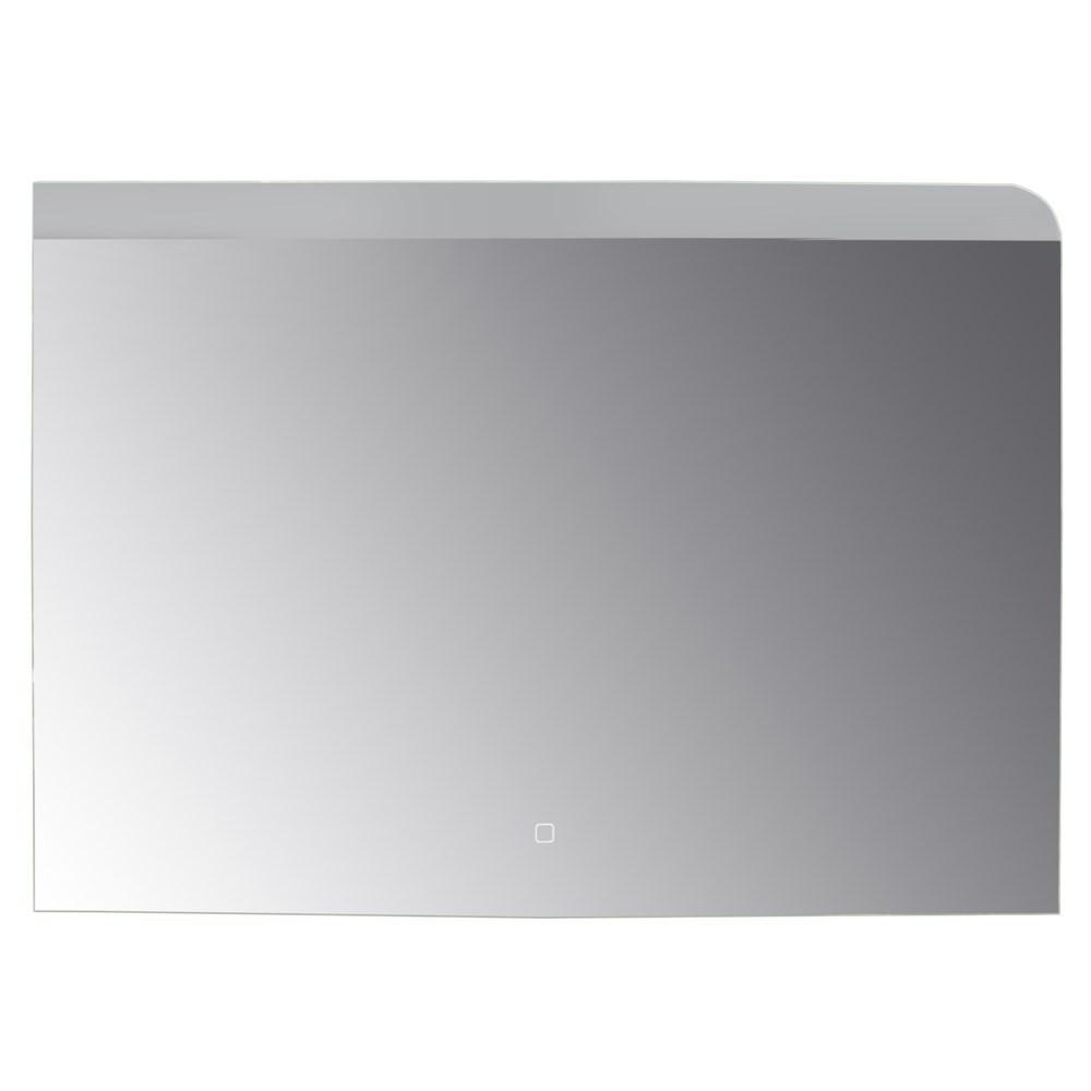 Pasqyre me ndricim LED kornize alumini sergjen metalik thares avulli ore digjitale 6500K 4 mm 100x70 cm 224089 1
