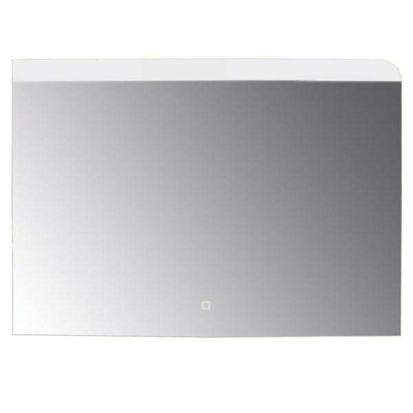 Pasqyre me ndricim LED kornize alumini sergjen metalik thares avulli ore digjitale 6500K 4 mm 100x70 cm 224089 2