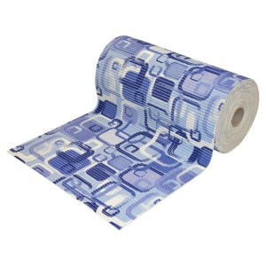 Tapet per tualet Permasa Rollon 65 cm x15m Ngjyra Blu Materiali PVC 770365 1