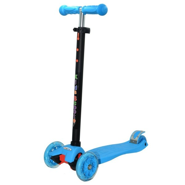 scooter kids maxi s910p wheels with led blu