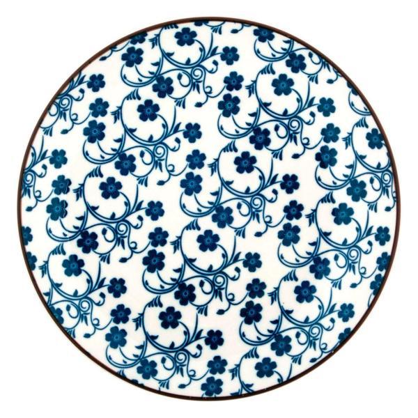 Pjate Frutash me Lule Blu dhe te Bardhe 19cm 1172622