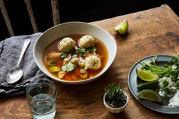 Mexican Matzo Ball Soup Recipe