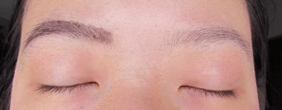 Left: Filled w/ no blending, Right: Bare
