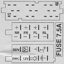 Opel CCRT 2008 Head Unit pinout diagram @ pinoutguide