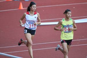 SEA Games Steeples Bronze medalist Jess Barnard starts off the season with an 800m.