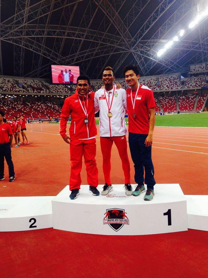 Yaspi, Iswandi and Kang. 2015 Singapore Open