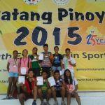 2015 Batang Pinoy Luzon Leg Athletics Report